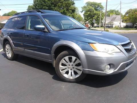 2009 Subaru Outback for sale at Sinclair Auto Inc. in Pendleton IN
