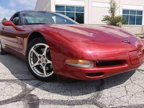 2001 Chevrolet Corvette for sale at Sinclair Auto Inc. in Pendleton IN