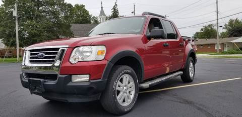 2007 Ford Explorer Sport Trac for sale at Sinclair Auto Inc. in Pendleton IN