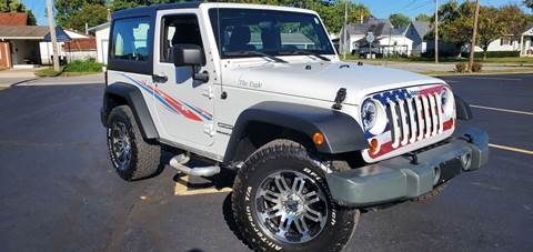 2011 Jeep Wrangler for sale at Sinclair Auto Inc. in Pendleton IN