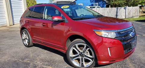 2013 Ford Edge for sale at Sinclair Auto Inc. in Pendleton IN