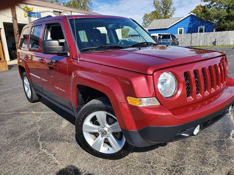 2013 Jeep Patriot for sale at Sinclair Auto Inc. in Pendleton IN