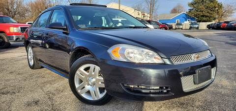 2012 Chevrolet Impala for sale at Sinclair Auto Inc. in Pendleton IN