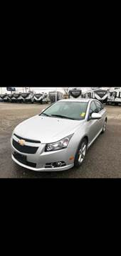 2014 Chevrolet Cruze for sale at Sinclair Auto Inc. in Pendleton IN