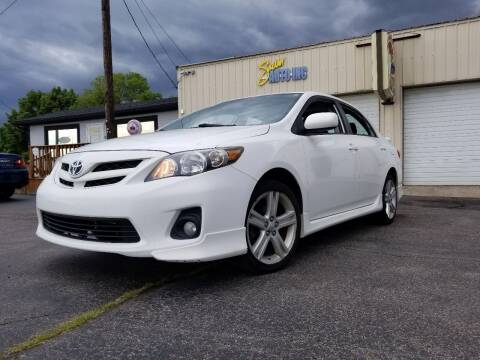 2013 Toyota Corolla for sale at Sinclair Auto Inc. in Pendleton IN
