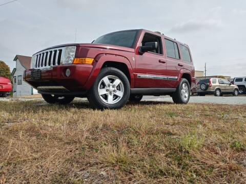 2007 Jeep Commander for sale at Sinclair Auto Inc. in Pendleton IN