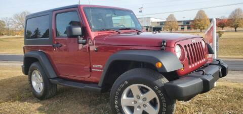 2012 Jeep Wrangler for sale at Sinclair Auto Inc. in Pendleton IN