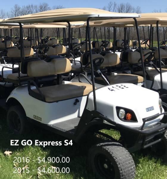 2016 E-Z-GO Express S4  - Reedsville WI