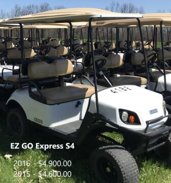 2016 E-Z-GO Express S4