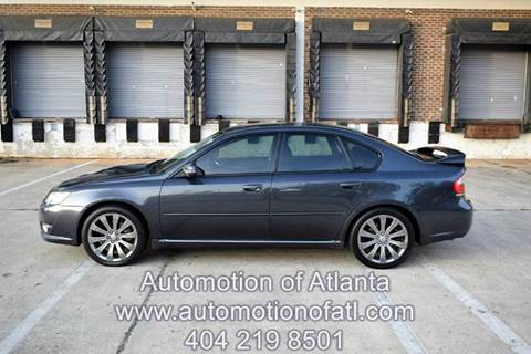 2008 Subaru Legacy for sale at Automotion Of Atlanta in Conyers GA