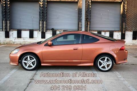 2006 Acura RSX for sale at Automotion Of Atlanta in Conyers GA