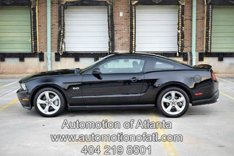 2011 Ford Mustang for sale at Automotion Of Atlanta in Conyers GA