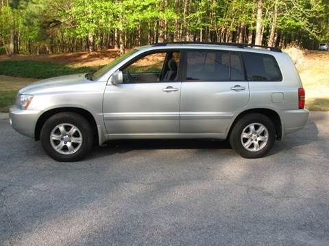 2003 Toyota Highlander for sale at Automotion Of Atlanta in Conyers GA