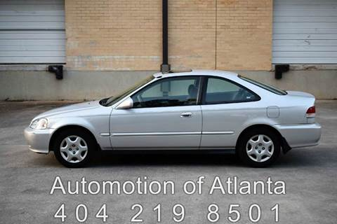 2000 Honda Civic for sale at Automotion Of Atlanta in Conyers GA