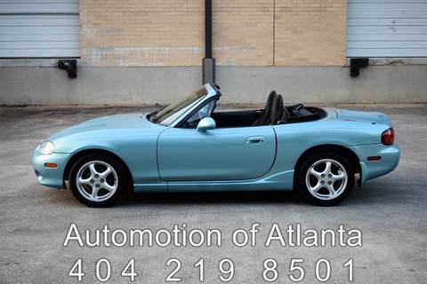 2002 Mazda MX-5 Miata for sale at Automotion Of Atlanta in Conyers GA
