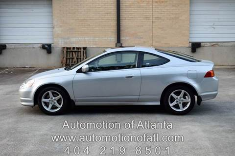 2004 Acura RSX for sale at Automotion Of Atlanta in Conyers GA