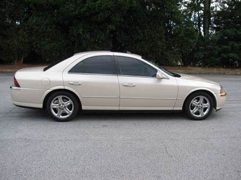 2002 Lincoln LS for sale at Automotion Of Atlanta in Conyers GA