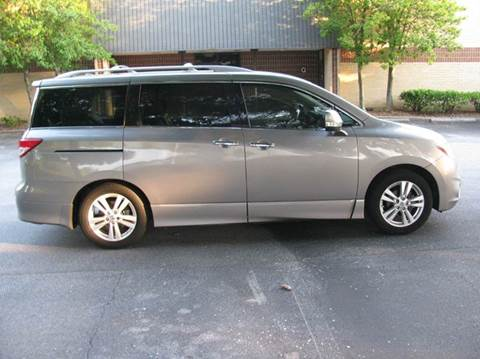 2012 Nissan Quest for sale at Automotion Of Atlanta in Conyers GA