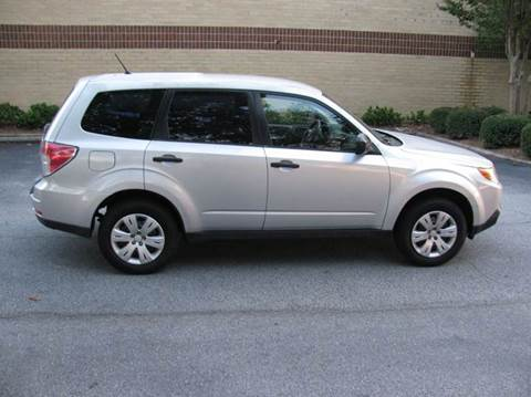 2009 Subaru Forester for sale at Automotion Of Atlanta in Conyers GA