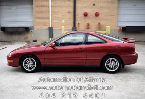 1998 Acura Integra for sale at Automotion Of Atlanta in Conyers GA