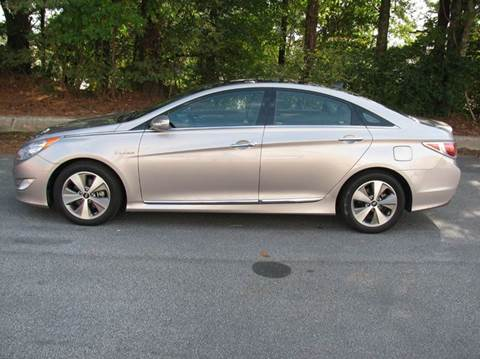 2012 Hyundai Sonata Hybrid for sale at Automotion Of Atlanta in Conyers GA