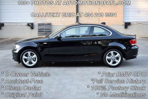 2009 BMW 1 Series for sale at Automotion Of Atlanta in Conyers GA