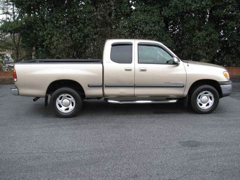 2002 Toyota Tundra for sale at Automotion Of Atlanta in Conyers GA