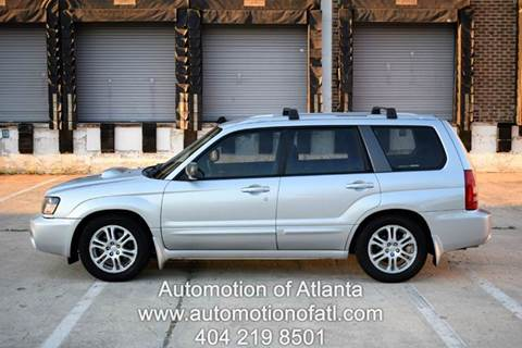 2005 Subaru Forester for sale at Automotion Of Atlanta in Conyers GA