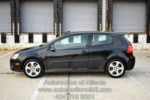 2008 Volkswagen GTI for sale at Automotion Of Atlanta in Conyers GA