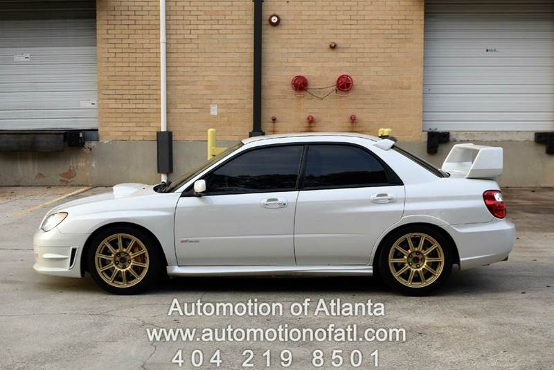 2007 Subaru Impreza for sale at Automotion Of Atlanta in Conyers GA