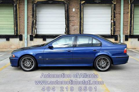 2003 BMW M5 for sale at Automotion Of Atlanta in Conyers GA