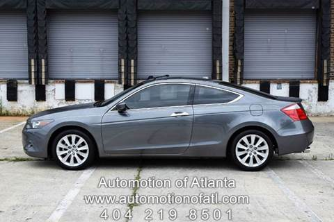 2010 Honda Accord for sale at Automotion Of Atlanta in Conyers GA