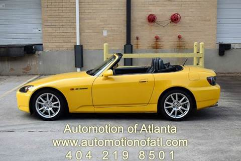 2004 Honda S2000 for sale at Automotion Of Atlanta in Conyers GA