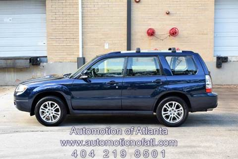2006 Subaru Forester for sale at Automotion Of Atlanta in Conyers GA
