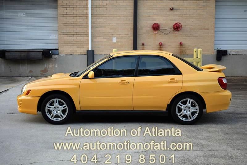 2003 Subaru Impreza for sale at Automotion Of Atlanta in Conyers GA