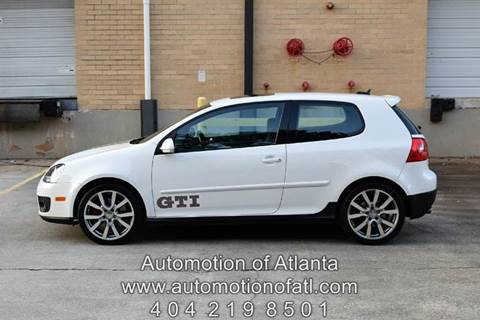 2006 Volkswagen GTI for sale at Automotion Of Atlanta in Conyers GA