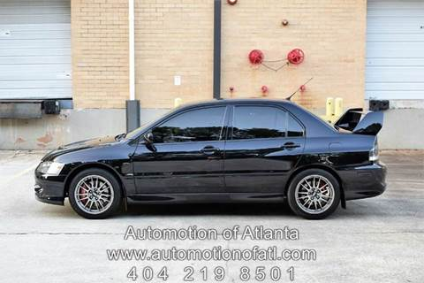 2006 Mitsubishi Lancer Evolution for sale at Automotion Of Atlanta in Conyers GA