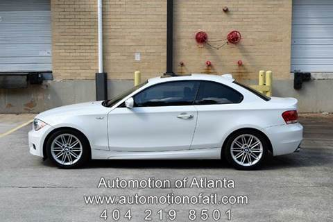 2012 BMW 1 Series for sale at Automotion Of Atlanta in Conyers GA