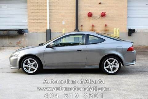 2005 Acura RSX for sale at Automotion Of Atlanta in Conyers GA