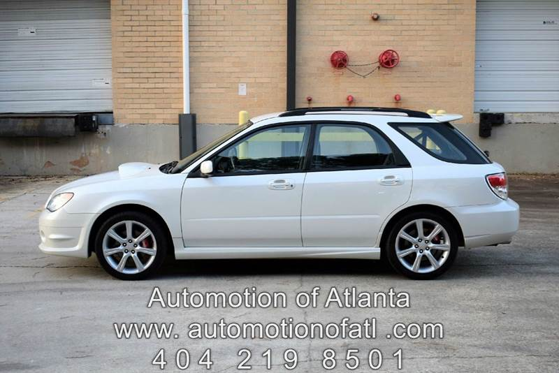 2007 Subaru Impreza for sale at Automotion Of Atlanta in Conyers GA
