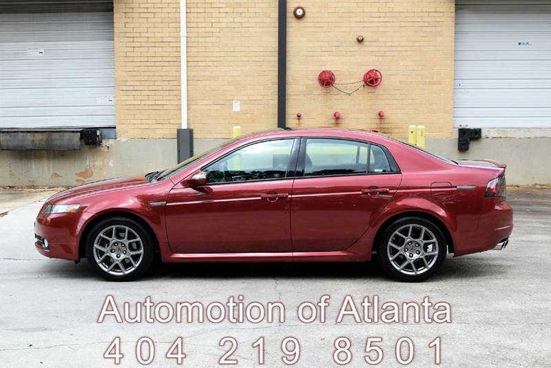 2008 Acura TL for sale at Automotion Of Atlanta in Conyers GA