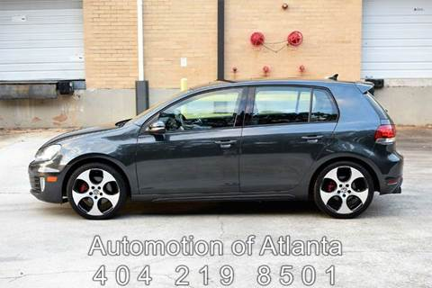 2011 Volkswagen GTI for sale at Automotion Of Atlanta in Conyers GA