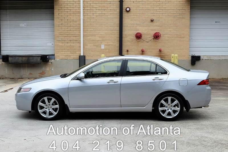 2004 Acura TSX for sale at Automotion Of Atlanta in Conyers GA