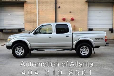 2002 Toyota Tacoma for sale at Automotion Of Atlanta in Conyers GA