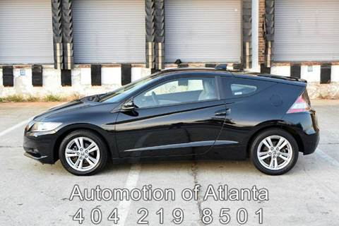 2011 Honda CR-Z for sale at Automotion Of Atlanta in Conyers GA