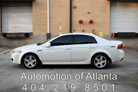 2005 Acura TL for sale at Automotion Of Atlanta in Conyers GA