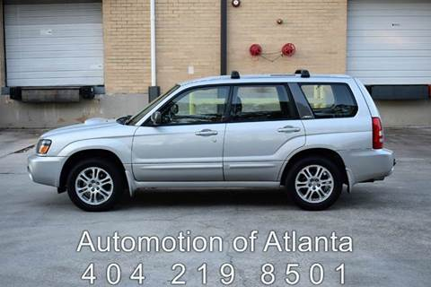 2004 Subaru Forester for sale at Automotion Of Atlanta in Conyers GA
