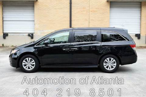 2015 Honda Odyssey for sale at Automotion Of Atlanta in Conyers GA