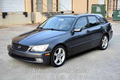 2003 Lexus IS 300 for sale at Automotion Of Atlanta in Conyers GA