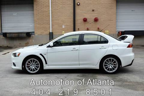 2008 Mitsubishi Lancer Evolution for sale at Automotion Of Atlanta in Conyers GA